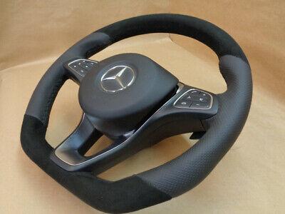Lederlenkrad MERCEDES W205 C292 X253 W638 W213 W166 steering wheel
