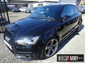 Audi A1 2.0 TDI Black Edition 3dr + FULL SERVICE HISTORY (black) 2012