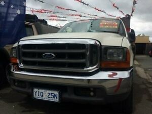 2006 Ford F250 RN XLT White 4 Speed Automatic Super Cab Pick-up Braddon North Canberra Preview