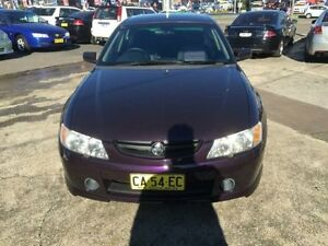 2003 Holden Commodore VY S Purple 4 Speed Automatic Sedan Cardiff Lake Macquarie Area Preview