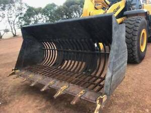 Rake Bucket /Rock Bucket for wheel loaders, 1m3, 2M3, 3M3 all in stock Maddington Gosnells Area Preview