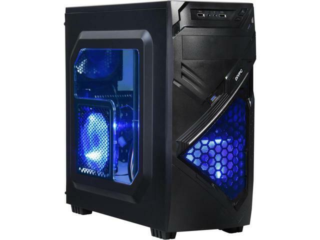 10-Core Gaming Computer Desktop PC Tower 3TB HDD Quad 8GB AMD R7 Graphic WIFI PC