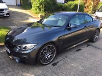BMW M4 Competition Pack Convertible, 5 year service pack, immaculate