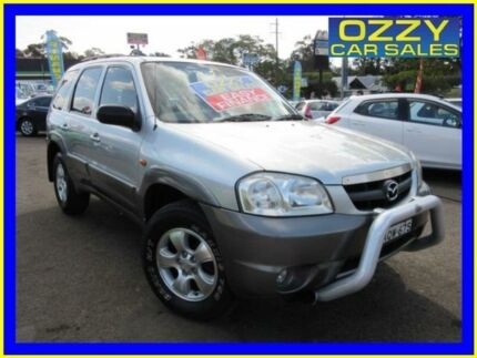 2004 Mazda Tribute Limited Silver 4 Speed Automatic 4x4 Wagon Penrith Penrith Area Preview