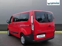 2014 Ford Transit Custom 2.2 TDCi 100ps Low Roof Kombi Van Diesel red Manual