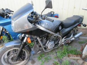 83 HONDA VFR INTERCEPTOR 750 PROJECT