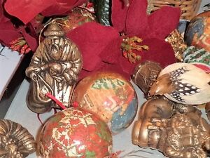 Xmas decor various