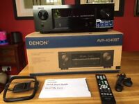 DENON AVR -X540BT 8 month old 5.2 Channel Full 4K Ultra HD and speakers. Amp is only 8 months