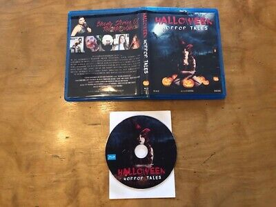 Halloween Horror Tales Blu ray*Signed*Rare*Bloody Stories Of The - Tales Of Halloween Blu Ray