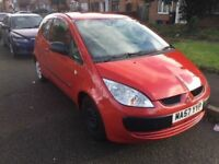 MITSUBISHI COLT 2007 1.2 / PETROL / MANUAL / 61000 MILES / APRIL 2018 MOT / £850