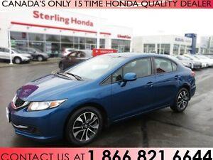 2013 Honda Civic EX | ACCIDENT FREE | 1 OWNER