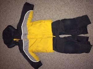 Snowsuit set size 4