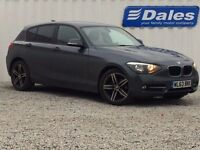 BMW 1 Series 116D Sport 5dr (grey) 2014