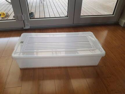 Plastic storage boxes bins with lid