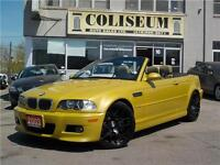 2003 BMW M3 CONVERTIBLE-SMG-NAVIGATION-E46