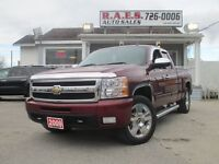 2009 Chevrolet Silverado 1500 LTZ 4WD 20 wheels