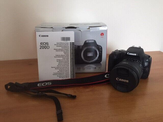 Canon 200D DSLR Camera Kit - Shoot Like A Pro | in Ashton-on
