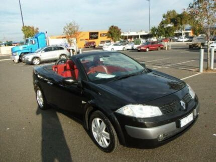 2005 Renault Megane X84 Dynamique Black 4 Speed Automatic Cabriolet Maidstone Maribyrnong Area Preview