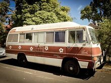 1981 Toyota Coaster motorhome / great granny flat or spare room Northcote Darebin Area Preview