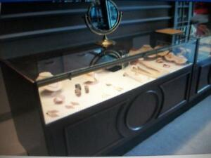 Showcases/ring trays/bracelet/neckless displays,pocket watches.