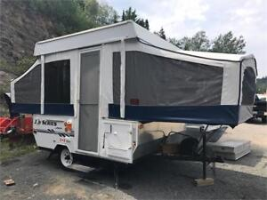 2006 8' JAYCO JAY SERIES POP UP TENT TRAILER WITH AC