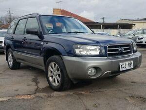 2004 Subaru Forester 79V MY05 XS AWD Blue 5 Speed Manual Wagon Blair Athol Port Adelaide Area Preview