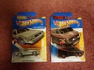 Back to the Future & A Team Van Hot Wheels Peterborough Peterborough Area image 1