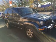 2002 Jeep Cherokee KJ Limited (4x4) Grey 4 Speed Automatic Wagon Campbelltown Campbelltown Area Preview