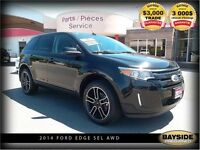 2014 Ford Edge SEL  LEATHER, NAV AND MOONROOF!