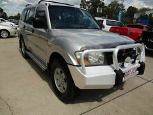 2002 Mitsubishi Pajero NM GLX LWB (4x4) Silver 5 Speed Manual 4x4 Wagon Wacol Brisbane South West Preview