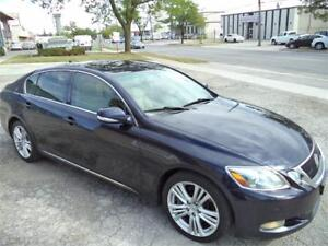 2008 Lexus GS 450h ACCIDENT FREE GOOD ON GAS FINANCING AVAILABLE