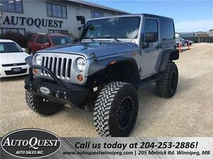 2013 Jeep Wrangler Sahara 4X4! TONNES OF AFTERMARKET ACCESSORIES