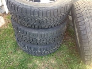 2 sets of tiers with rims HONDA CRV & MAZDZ MPV 100$ each