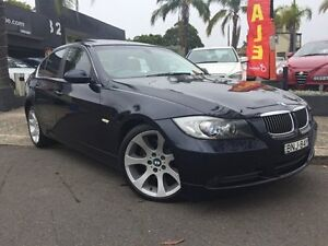 2008 BMW 323I E90 MY08 Steptronic Dark Blue 6 Speed Sports Automatic Sedan Croydon Burwood Area Preview