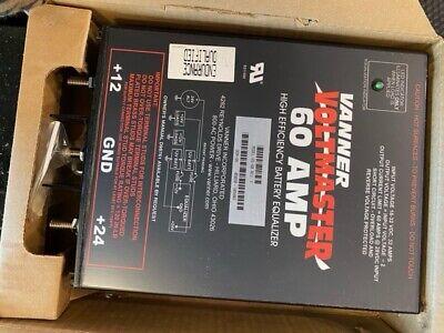 Vanner VoltMaster 60 AMP 66-60 Battery equalizer 24 12 volt High Efficiency