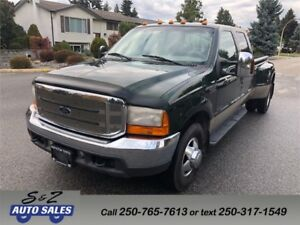 2000 Ford F-350 Crew Cab Dually 7.3 Diesel Lariat Long box