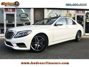 2014 Mercedes-Benz S-Class S-550|AMG|NAVI|360CAM|ONE OWNER|ACCID