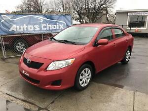 TOYOTA COROLLA CE 2009 **FINANCEMENT**AIR CLIMATISE**