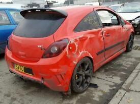 Vauxhall Corsa VXR RACING 1.6 T Z16LER **BREAKING**