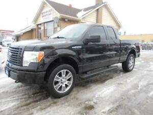 2014 FORD F-150 STX 4X4 Extended Cab 3.7L V6 Certified 179,000Km