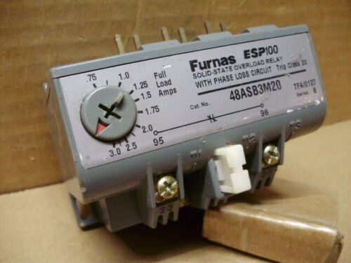 Furnas ESP100 48ASB3M20 Solid State Overload Relay