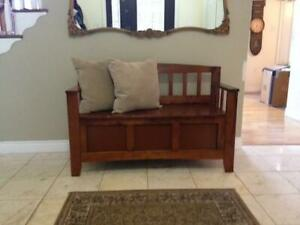Front Entry Bench or Toy Box