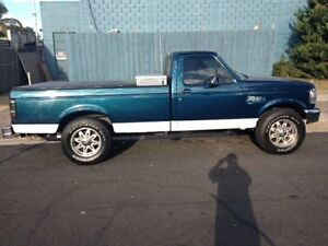 1991 Ford F250 Utility Blue Automatic Melbourne CBD Melbourne City Preview