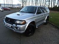 2004 04 MITSUBISHI SHOGUN SPORT 2.5 EQUIPPE TD 5D 114 BHP **** GUARANTEED FINANCE ****