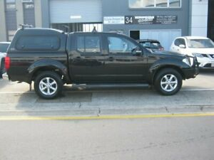 2013 Nissan Navara D40 S6 MY12 ST Black 6 Speed Manual Utility Kippa-ring Redcliffe Area Preview