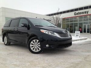 2015 Toyota Sienna Limited AWD 7-Pass, Leather, Nav, DVD Player,