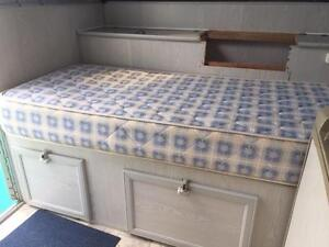 Single innerspring mattress suitable for caravan or camper Mango Hill Pine Rivers Area Preview
