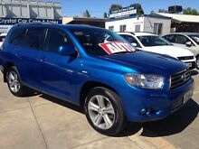 2008 Toyota Kluger GSU40R KX-S 2WD Tidal Blue 5 Speed Sports Automatic Wagon Park Holme Marion Area Preview