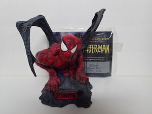 spider man iron spider statue diamond select no box avengers