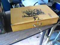 Cool Vintage storage box